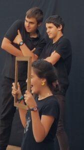 les jeunes saltimbanques ont du talent Granges-Aumontzey