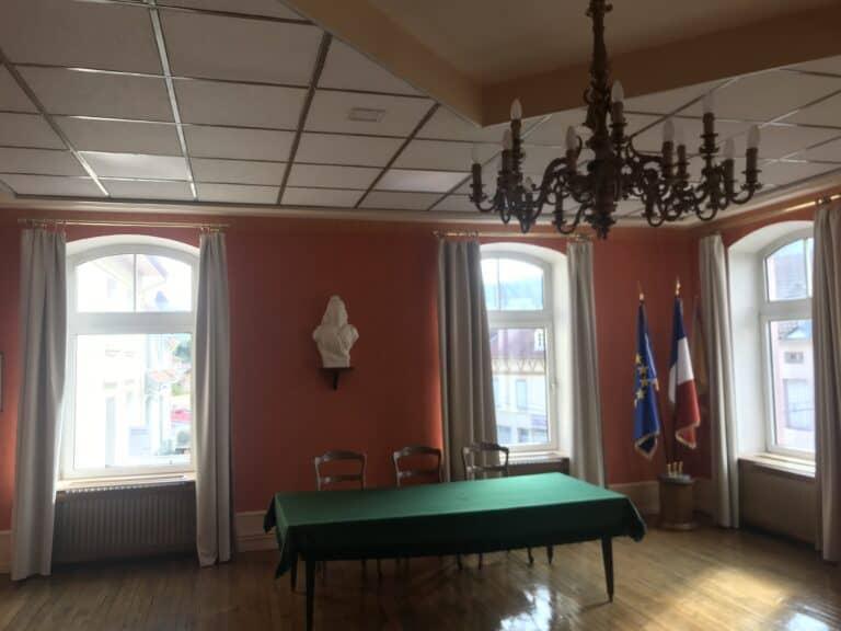 Salle des conseils municipaux Granges-Aumontzey