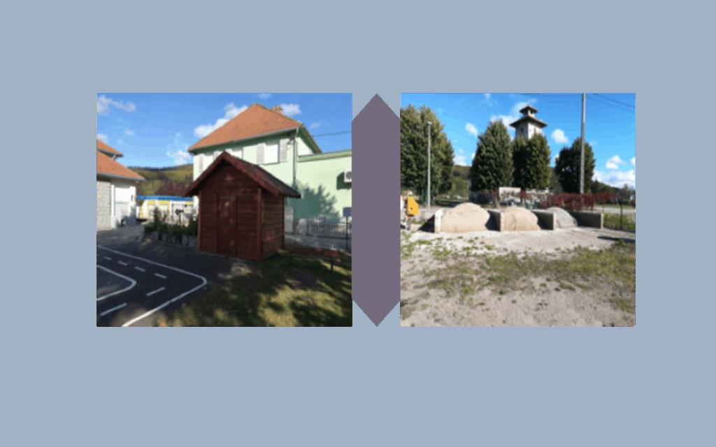 Travaux effectué à Granges-Aumontzey