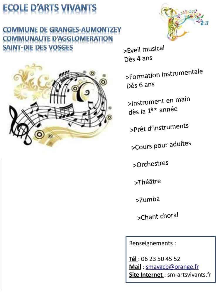 Ecole d'art vivant_Granges-Aumontzey