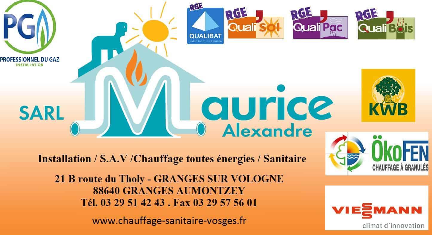 SARL MAURICE ALEXANDRE_Granges-Aumontzey
