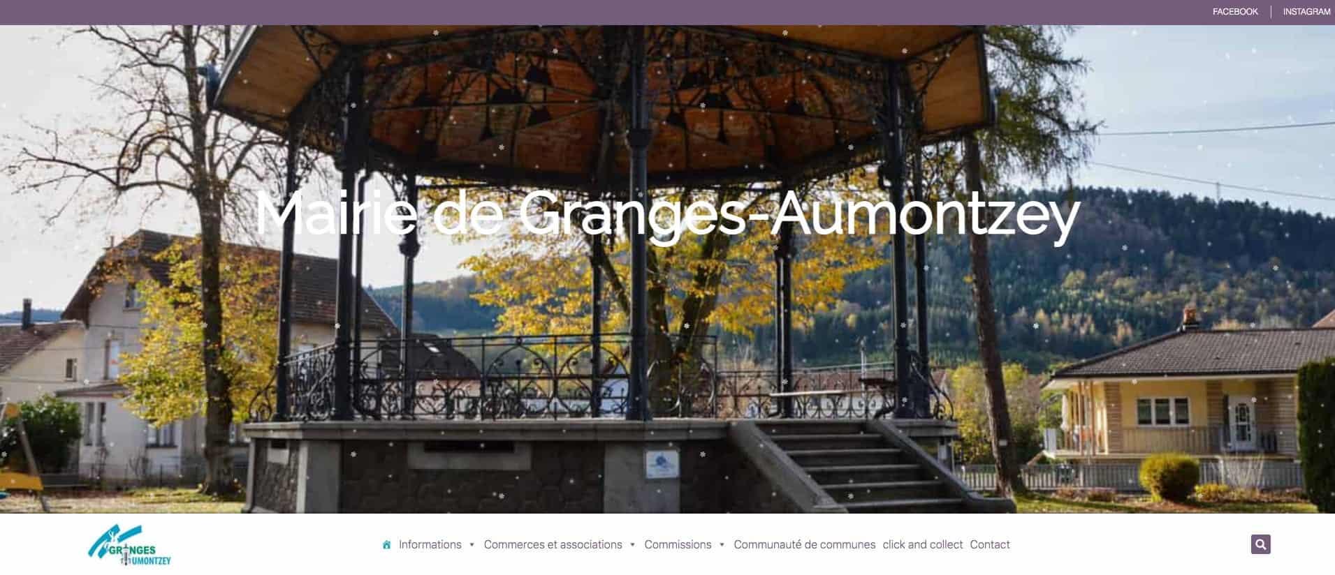 Imaginewebsite site web Mairie-de-Granges-Aumontzey