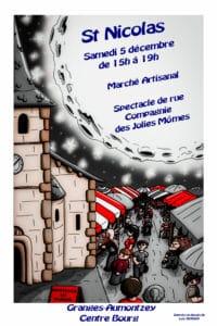 Marché St Nicolas 2020-Granges-Aumontzey
