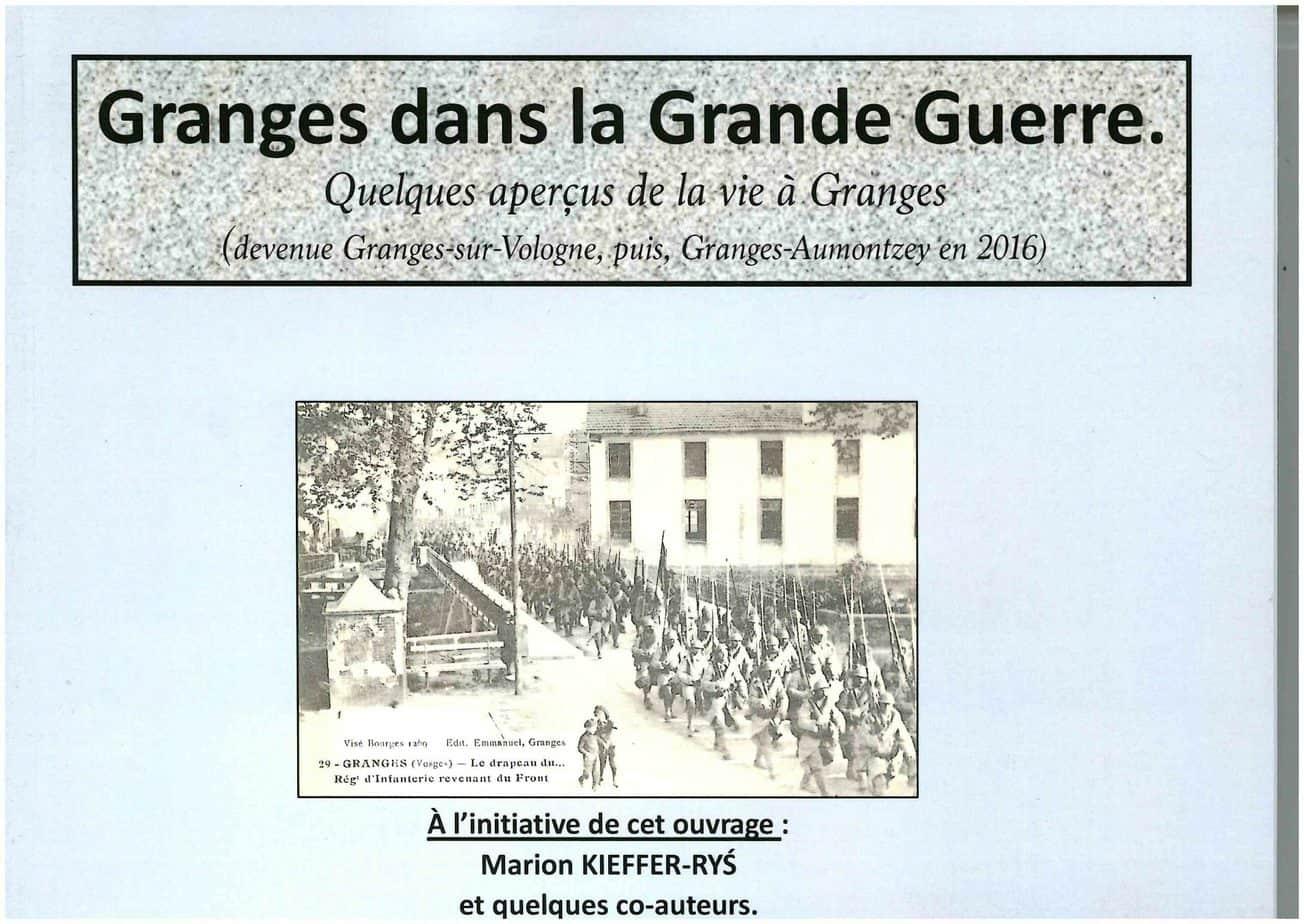 Granges dans la Grande Guerre_Granges-Aumontzey