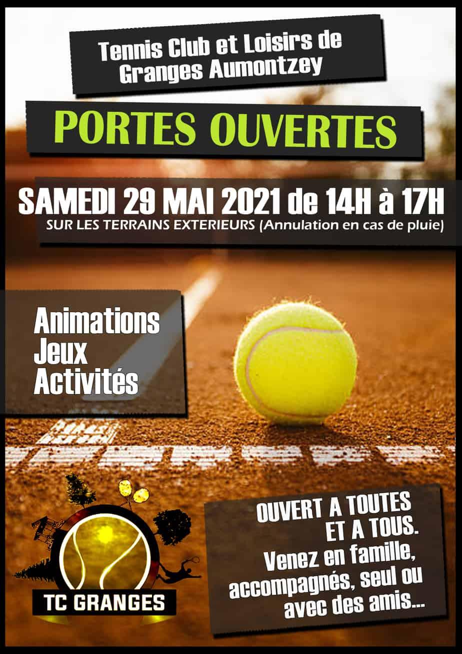 Portes ouvertes, Tennis Club Loisirs de Granges-Aumontzey