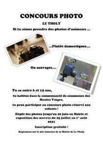 affiche concours photo enfant-Granges-Aumontzey