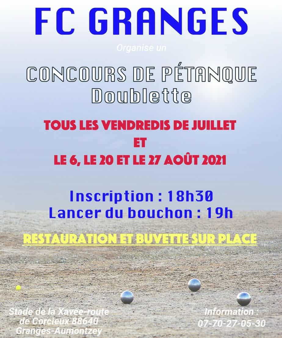 Boules-FC-Granges