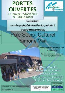 Pole sociaux culturel Simone Veil à Granges-Aumontzey